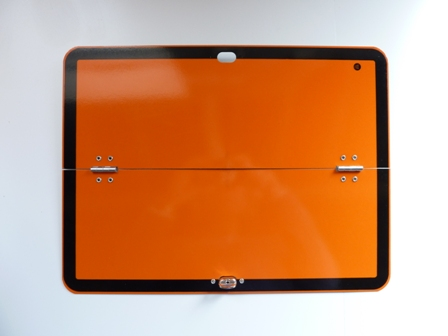 HAZCHEM GAS PLATE FOLDING ORANGE VEHICLE MARKER BOARD