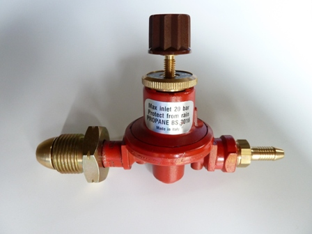 PROPANE REGULATOR 0-2 BAR ADJUSTABLE