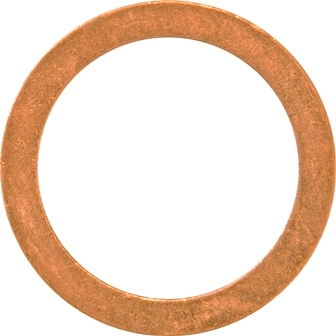 M18 x 22MM x 1.5MM COPPER SEALING WASHERS (100) METRIC DIN 7603A