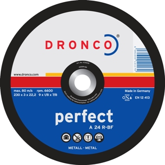 "DRONCO PERFECT FLAT METAL CUTTING DISC 12"" 300MM (2)"