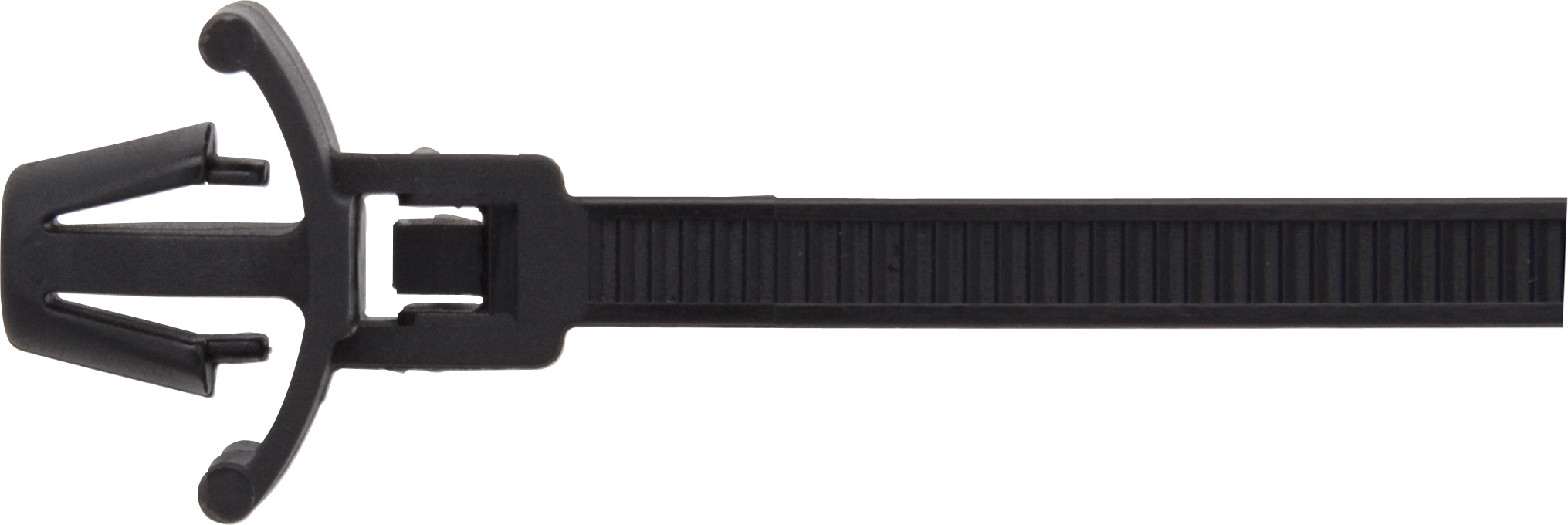 HELLERMAN TYTTON CABLE TIES 215MM x 4.6MM (50) BLACK RELEASABLE