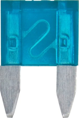 2 AMP MINI BLADE FUSE (50) GREY STANDARD TYPE
