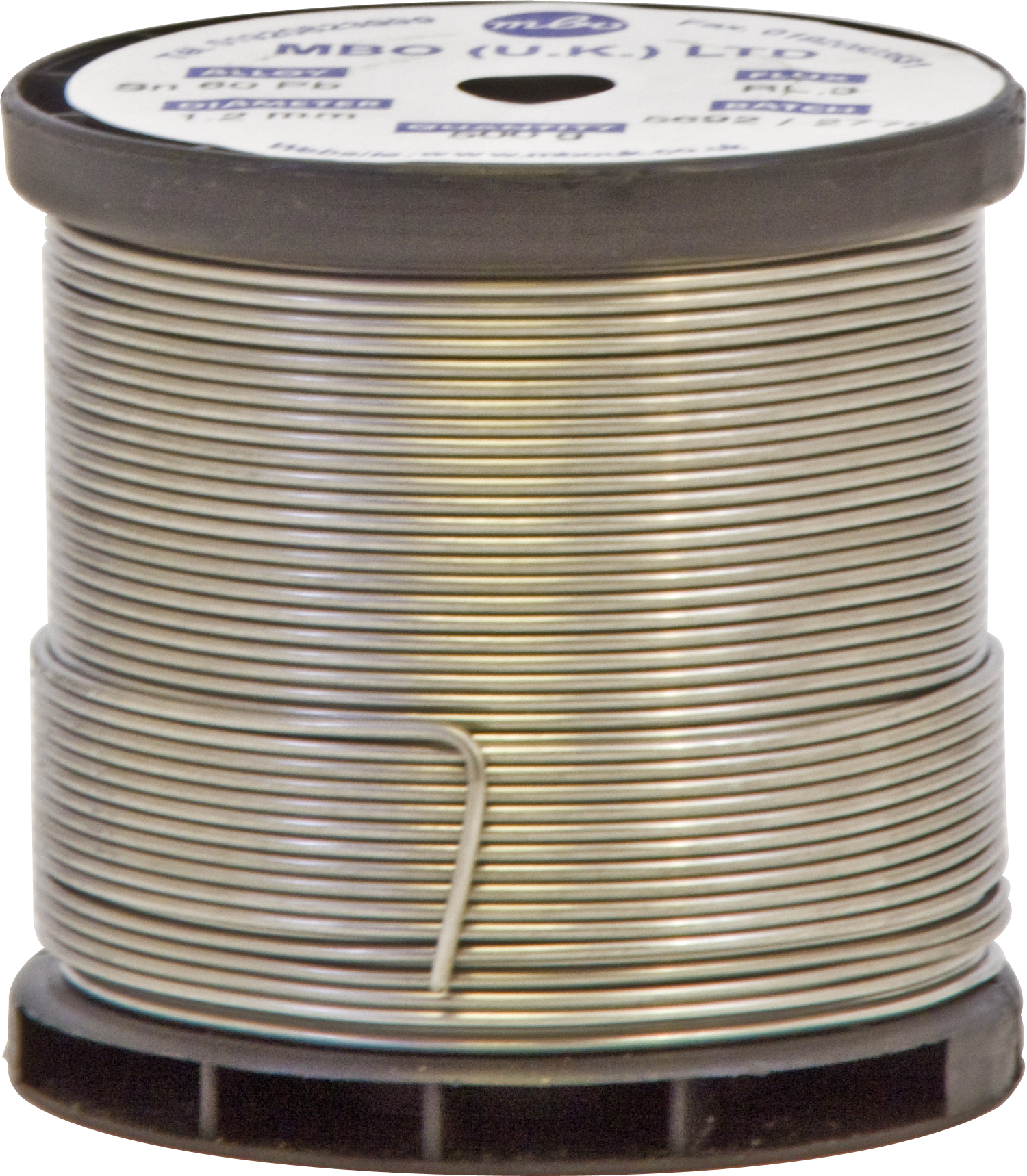 0.5kg Solder Wire Flux Cored 60 Tin//40 Lead 1.2 mm Coil SO18