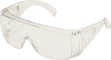 SAFETY SPECTACLES - POLYCARBONATE OVER SPECS (10)