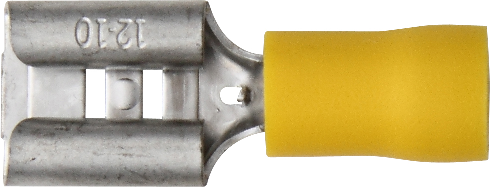 YELLOW INSULATED TERMINALS