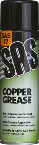 COPPER GREASE 500ML AEROSOLS (6) SAS17